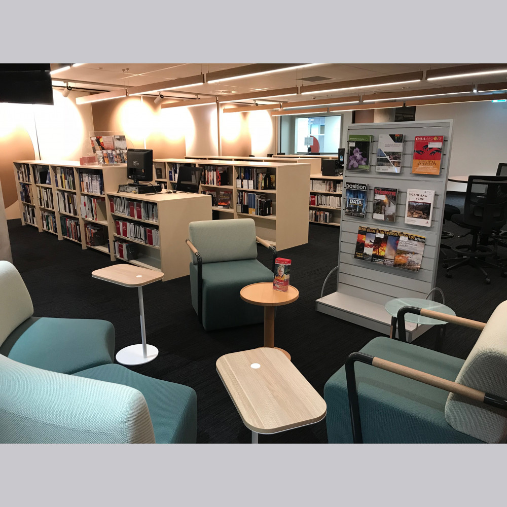 The new HQ Library